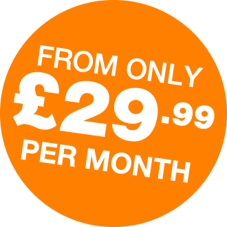 flash- from only £25/month